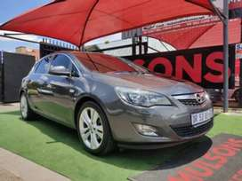 2011 Opel Astra 1.6T sport edition