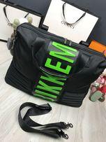 Сумка мужская дорожная через плечо чемодан для багажа Bikkembergs c520