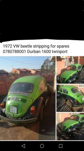 Vw beetle stripping for spares
