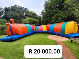 Worm Jumping Castle