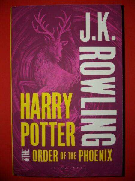 Harry Potter And The Order Of Phoenix - JK Rowling - Book 5 - REF:2750
