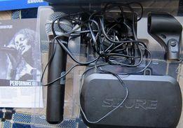 Вокальный радиомикрофон Shure PG2/PG58 в отличном состоянии.