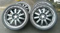 "Image of Quick Sale: 19"" Racing Hart Mags & Tyres"