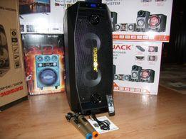 BLUETOOTH Акустическая система Temeisheng караоке,SD,USB,FM,600Ватт