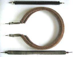 Оребренный трубчатый электронагреватель