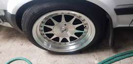 """15"""" 8.25j wides with new tyres included"""
