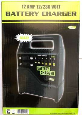New Battery charger for sale 12Amp 12/230 Vol