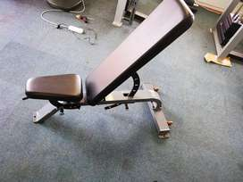 Adjustable commercial bench