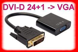 Конвертер DVI-D 24+1 -> VGA /адаптер переходник активный дви-вга