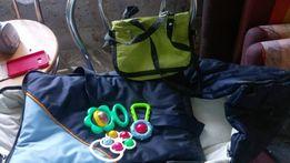 Torba + wózek oraz inne na dziecko