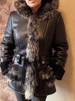 Оригинальная утепленная куртка на меху на зиму ЦЕНА СНИЖЕНА!!!