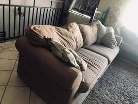 2 x 4 Seater Couches