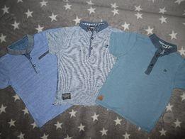 Фирменные футболки поло на мальчика 4-5 лет
