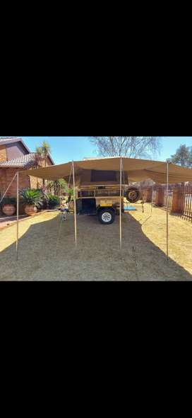 Challenger Camping Trailer with Senior Tent