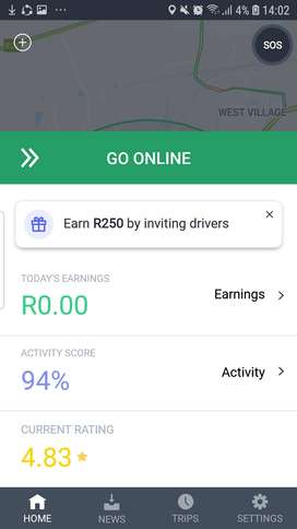 Bolt/Taxify driver with 2 years expirienc