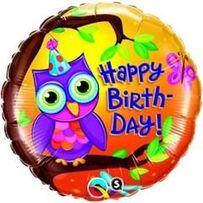 balony foliowe urodzinowe 45 cm