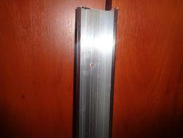 Алюминиевый профиль ЛП 40*20 (0.9) (орех темный).