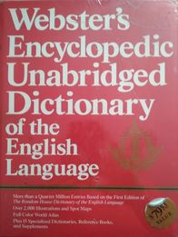Webster's Encyclopedic Unabridged Dictionary nowa