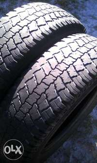 Image of Tyres x2 Continental Bakkie 205/70/15 Good R450 both