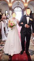 Suknia Ślubna r. 36 + dodatki