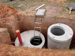 Выгребная яма, септик, канализация, земляные работы Киев и область