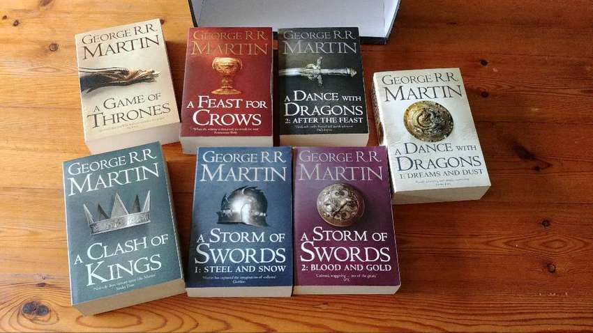 Game of Thrones - all seven George Martin Books 0