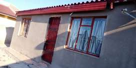 Tiled 4 room house for rental