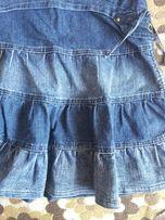 Юбка джинсовая для школьницы