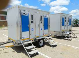 Mobile VIP toilets for hire
