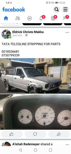 TATA TELCOLINE STRIPPING FOR PARTS