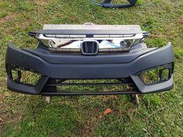Бампер передній Honda civic 16-