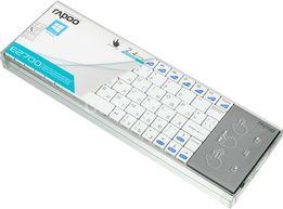 Клавиатура беспроводная Rapoo E2700 Touchpad White для SmartTV