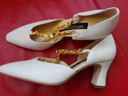 Элитные туфли, Италия, кожа , 37 размер