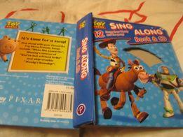 детская книга на английском песни картон toy story sing along songs