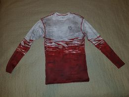 Nowa koszulka treningowa termoaktywna flaga polski S