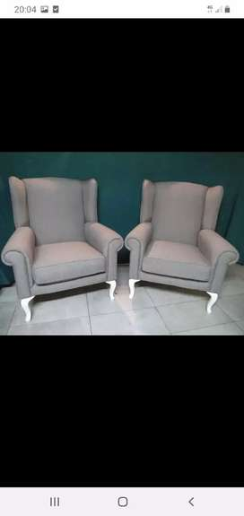 BRAND NEW WING BACK CHAIRS