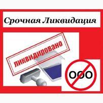 Ликвидация ООО/ТОВ, ПП за 3 дня. С долгами и проблемами без проверок