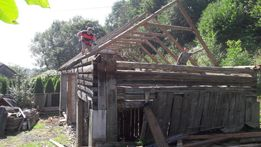 Stodola darmowa rozbiórka skup desek starego drewna