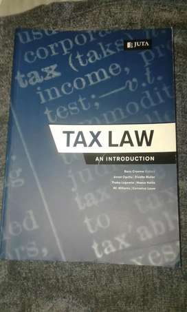 Tax Law An Introduction 2013