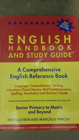 English handbook and study guide Textbook for sale