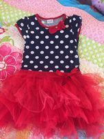 Платье детское с фатиновой юбкой нарядное
