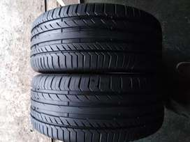 2 × 245 / 45 / 18 runflat continental tyres for sale