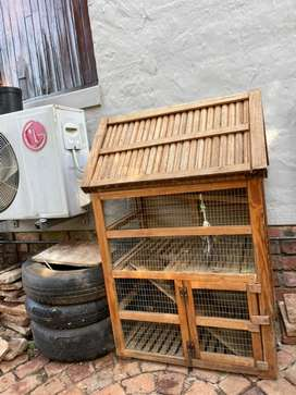 Small pet cage and house