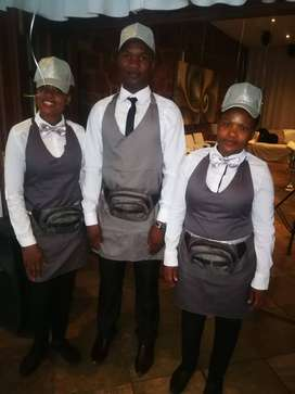 Waiters for hire