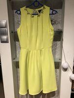 Sukienka Mohito neonowa 34 wesele