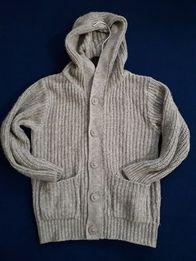 Вязаный свитер на 2-3 года