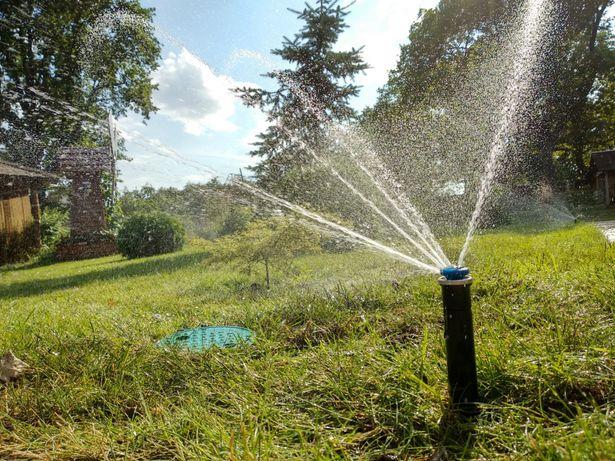 Автополив. Полив. Система автоматического полива.рулонный газон.газон