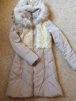 Зммняя куртка,пуховик,парка,натуральный мех