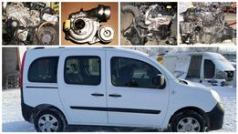 Двигатель РАЗБОРКА Renault Kangoo II 1.5dci Рено Кенго ШРОТ запчасти