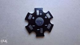 """Алюминиевая подложка для светодиодов 1-5W типа """"звезда"""" 20мм."""